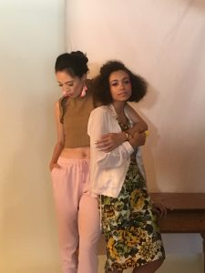 Editorial Session Behind the Scenes, Pink
