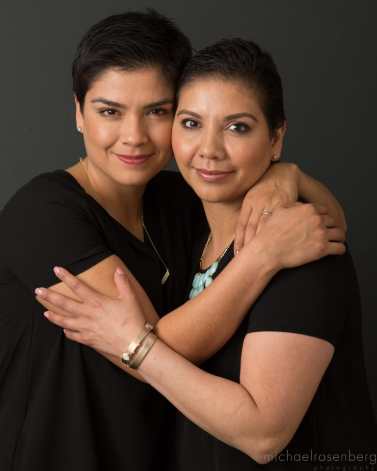 Tania Lozada, More Than Our Scars Participant and Breast Cancer Survivor, portrait series by Michael Rosenberg Photography with Komen Puget Sound