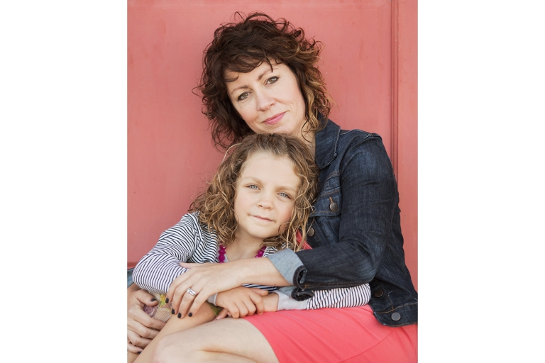 Mother Daughter Portrait Session with Michael Rosenberg Photography